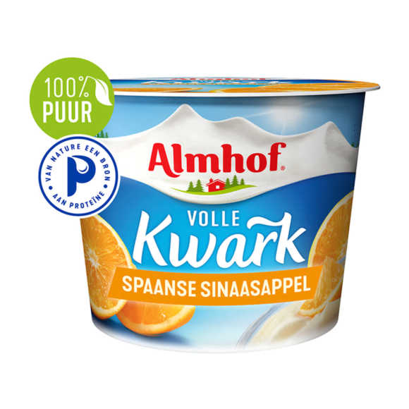 Almhof volle kwark Spaanse sinaasappel product photo