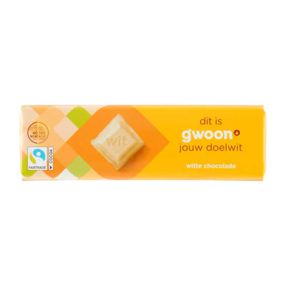 g'woon Chocoladereep wit product photo