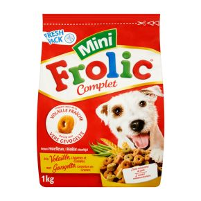 Frolic hondenvoer droog gevogelte/groente/granen mini product photo