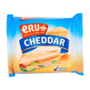 ERU Cheddar slices product photo