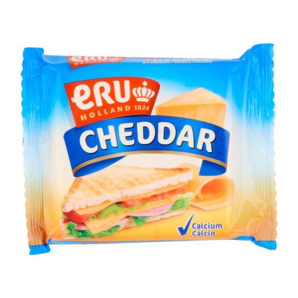 ERU Cheddar slices product photo