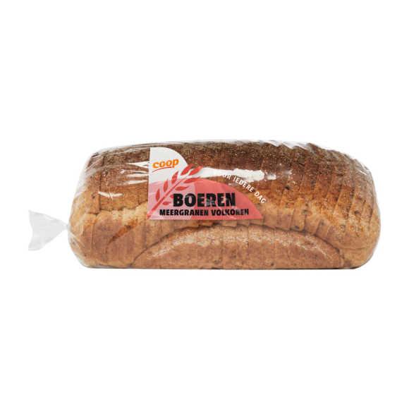 Boeren meergranenbrood heel product photo