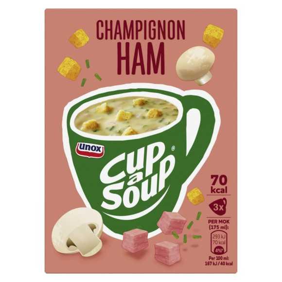 Unox Cup-a-soup champignon ham product photo