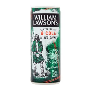 William Lawson's Scotch whisky & cola blik product photo