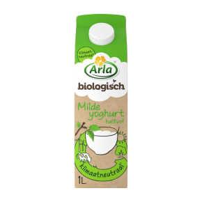 Arla Biologische halfvolle milde yoghurt product photo