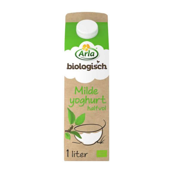 Arla Halfvolle milde yoghurt product photo