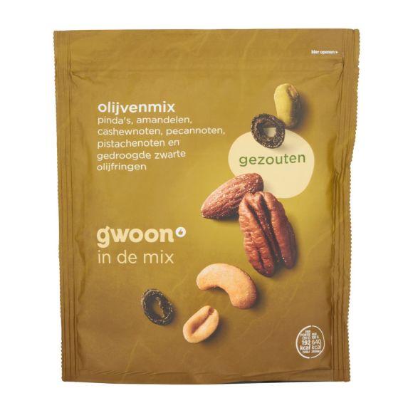 g'woon Olijvenmix gezouten product photo