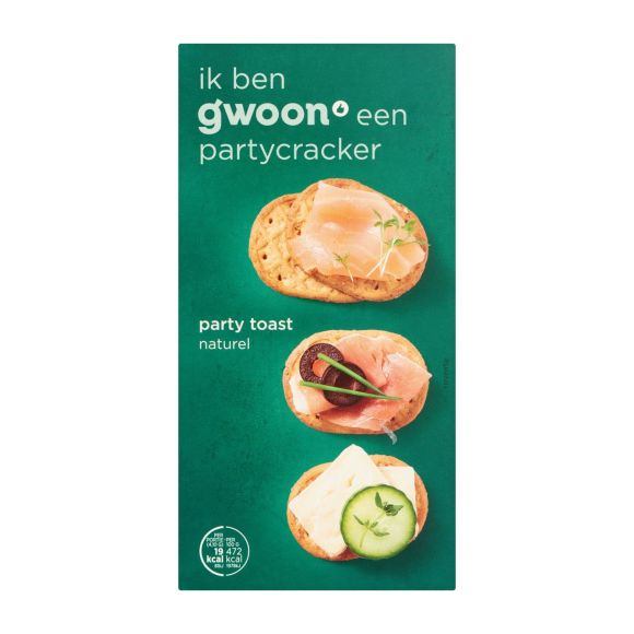 g'woon Party toast naturel product photo
