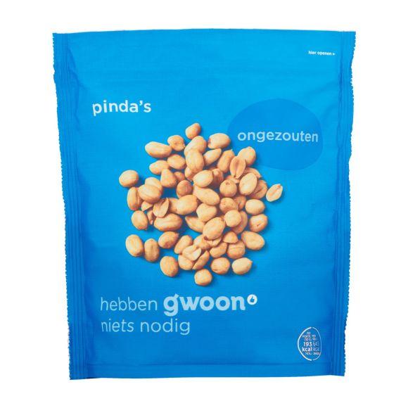 g'woon Pinda's ongezouten product photo