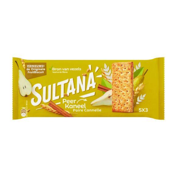 Sultana Fruitbiscuits peer kaneel 5 x 3 Stuks product photo