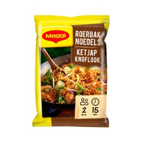 Maggi Roerbaknoedels ketjap knoflook product photo