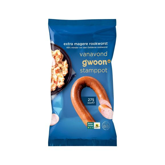 g'woon Extra magere rookworst product photo