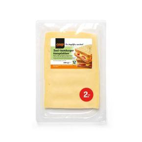 Coop Tosti-hamburger kaas plakken product photo