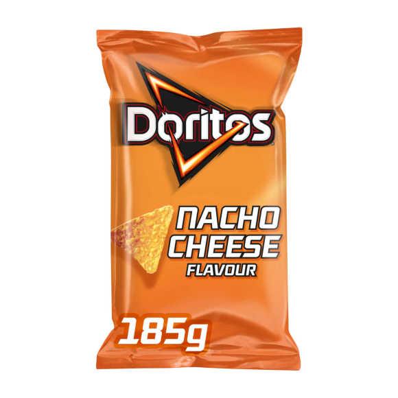 Doritos Nacho cheese tortilla chips product photo