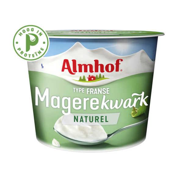 Almhof magere Franse kwark naturel product photo