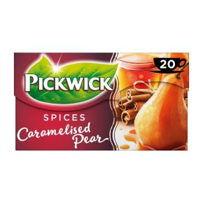 Pickwick Spices caramelised pear zwarte thee product photo