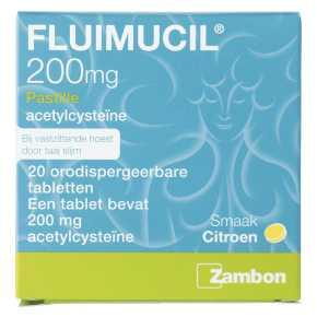 Fluimucil Pastille 200 mg product photo