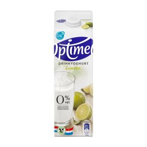 Optimel Drinkyoghurt Limoen 1000 ml Pak met punt product photo