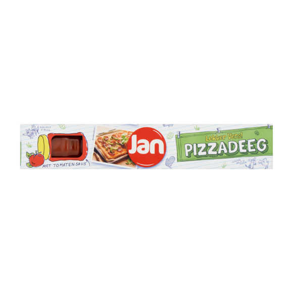 Jan Vers pizzadeeg met saus product photo