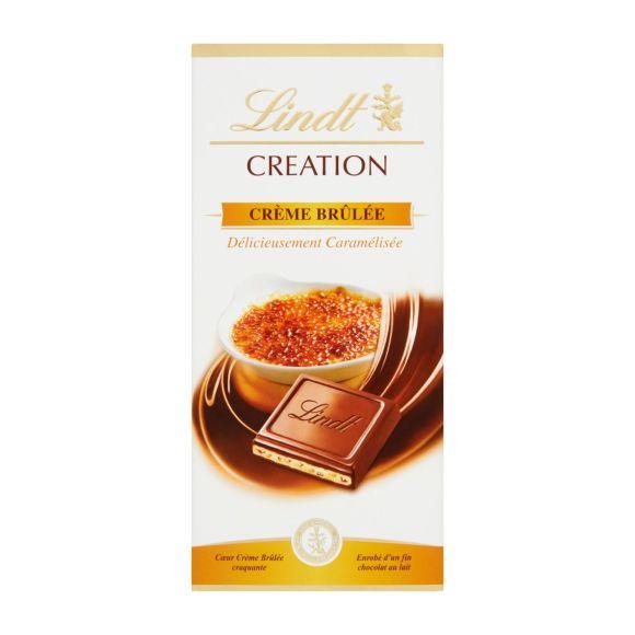 Lindt Creation crème brulee product photo