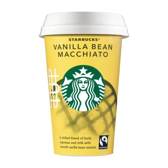 Starbucks Vanilla bean macchiato product photo