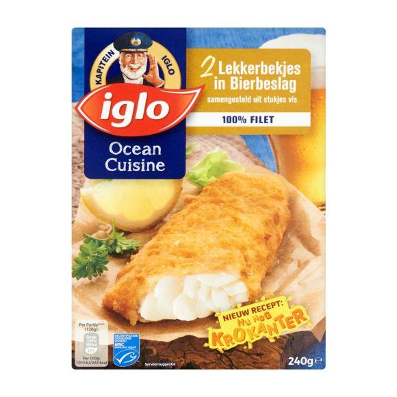 Iglo Lekkerbekjes in Bierbeslag product photo