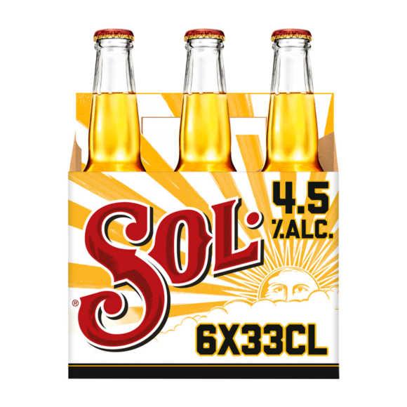 Sol bier fles 6x33cl product photo