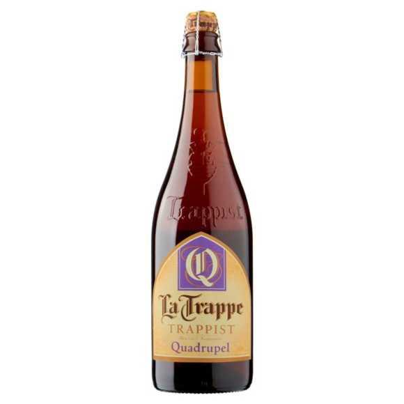 La Trappe trappist quadrupel product photo