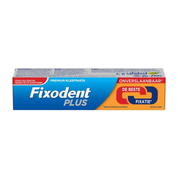 Fixodent Plus de beste fixatie premium kleefpasta product photo