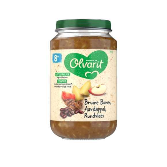 Olvarit Bruine bonen aardappel rundvlees 8+ maanden product photo