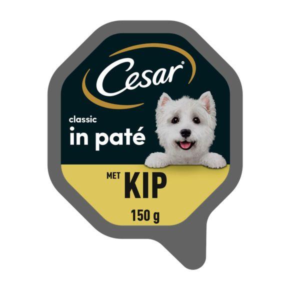 Cesar hondenvoer nat classic met kip product photo