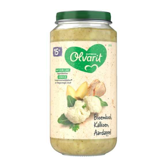Olvarit Bloemkool kalkoen aardappel 15+ maanden product photo