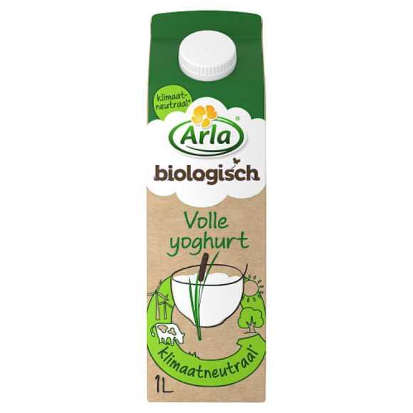 Arla Biologisch volle yoghurt product photo