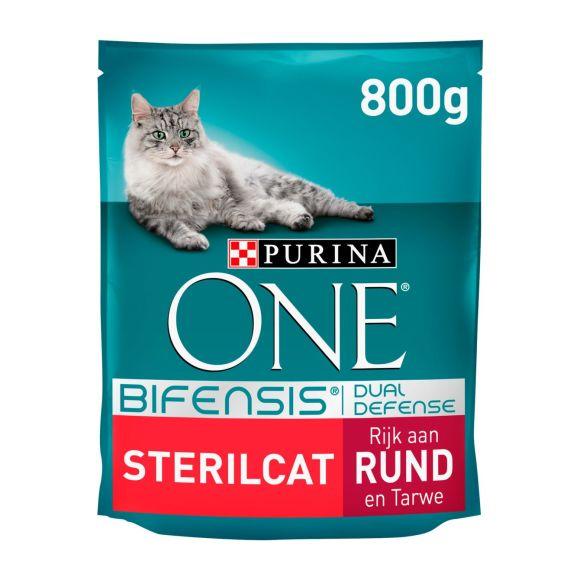 Purina One sterilkat rund & tarwe product photo