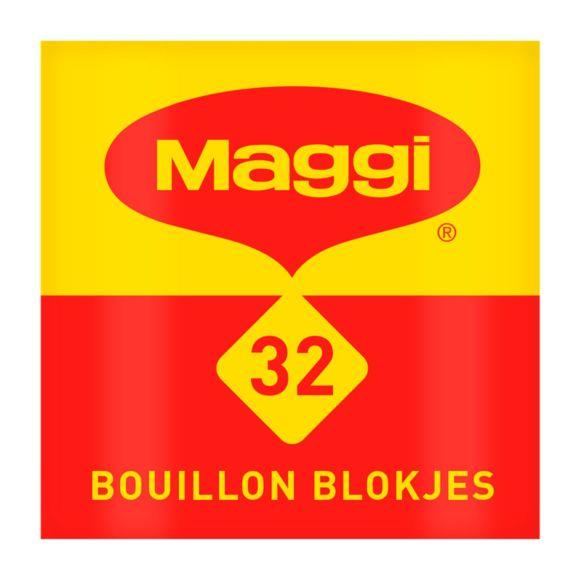 Maggi 32 Bouillon Blokjes Pakje 128 g product photo