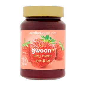 g'woon Extra jam aardbei product photo