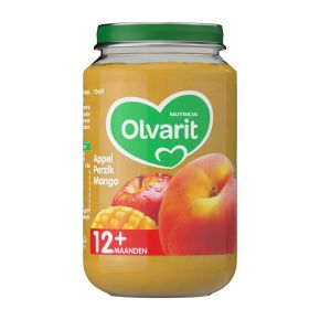 Olvarit Appel, perzik en mango 12+ maanden product photo