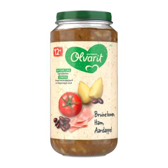 Olvarit Bruine bonen ham aardappel 12+ maanden product photo