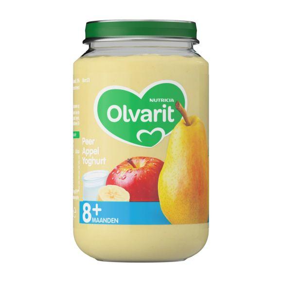 Olvarit Peer, appel en yoghurt 8+ maanden product photo