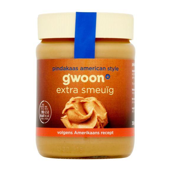 g'woon Pindakaas American style product photo