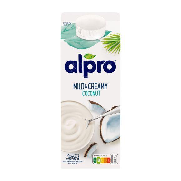 Alpro Mild & Creamy naturel met kokosnoot product photo