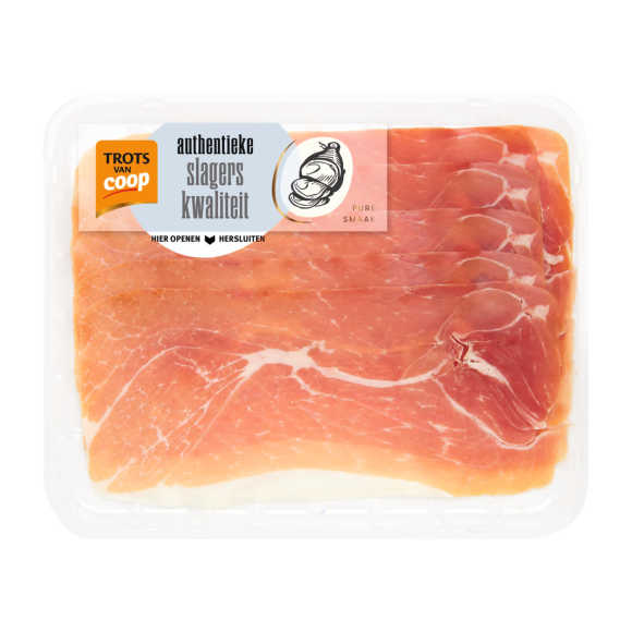 Trots van Coop Authentieke serrano ham product photo