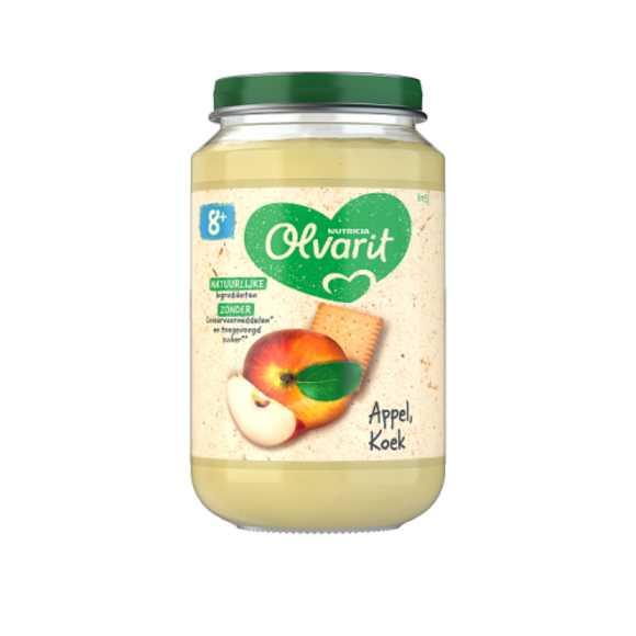 Olvarit Appel en koek 8+ maanden product photo