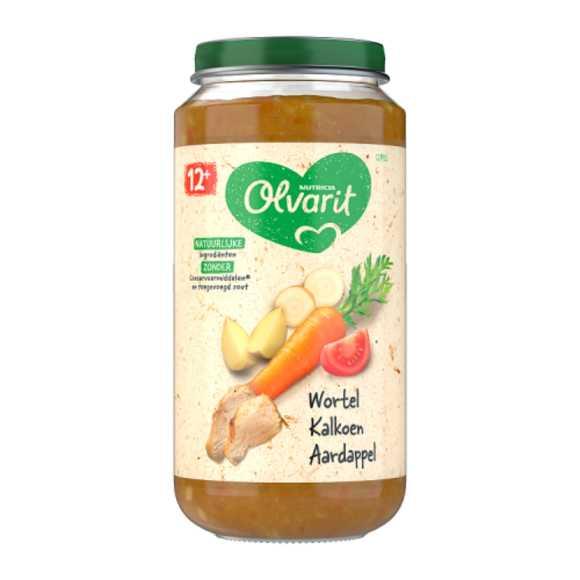 Olvarit Wortel kalkoen aardappel 12+ maanden product photo