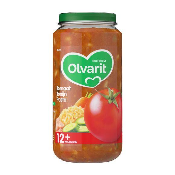 Olvarit Tomaat tonijn pasta 12+ maanden product photo