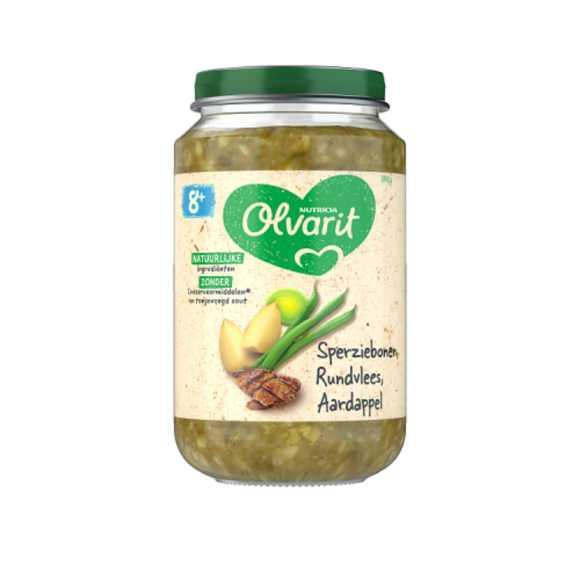 Olvarit Sperziebonen rundvlees aardappel 8+ maanden product photo