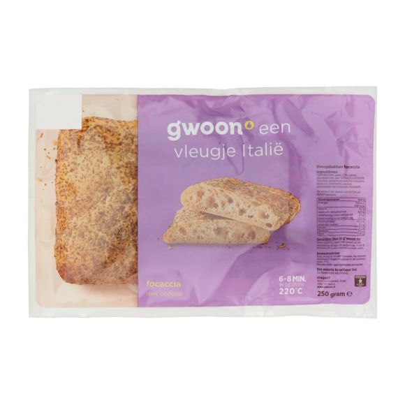 g'woon Focaccia product photo