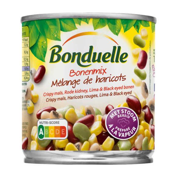 Bonduelle Bonenmix Crispy maïs, rode kidney, lima & black eyed bonen product photo