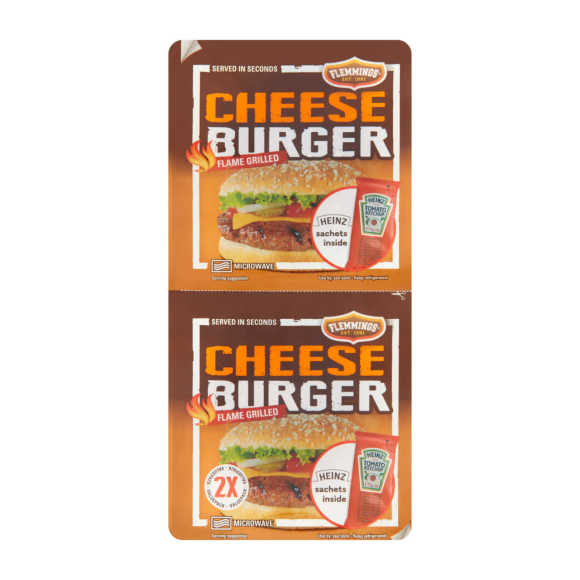 Flemmings Cheeseburger valuepack product photo