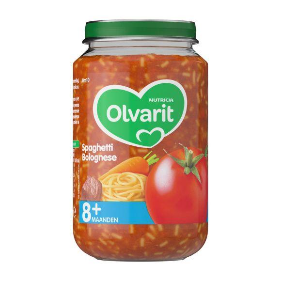 Olvarit Spaghetti bolognese 8+ maanden product photo